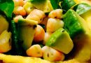 Salade d'avocats et ananas