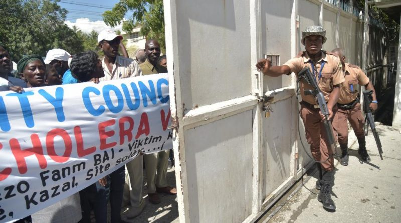 Haïti: accueil houleux pour la délégation du Conseil de sécurité de l'ONU