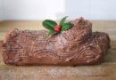 Bûche de Noël traditionnelle à la mousse au chocolat